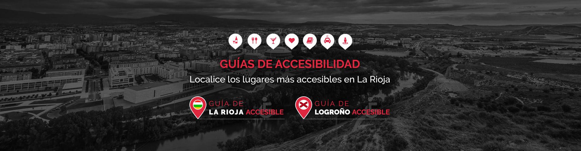 Guías de accesibilidad de Logroño y La Rioja